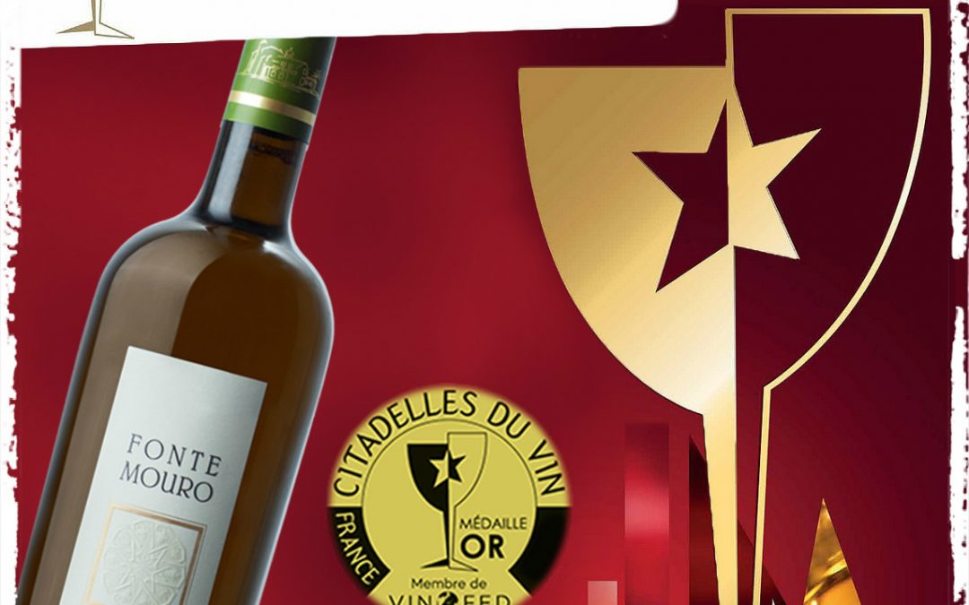 Fonte Mouro Chardonnay Reserve 2014 wins the Gold Medal in the Citadelles Du Vin 2016 competition