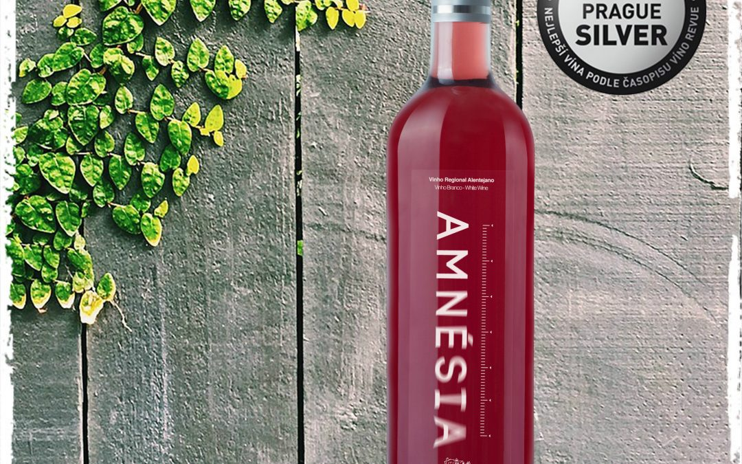 Amnésia Rosé 2014 wins the Silver Medal in the Prague Wine Trophy 2016 Competition
