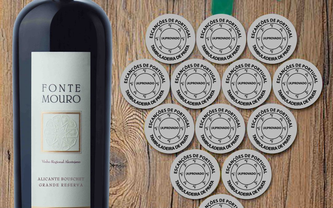 Fonte Mouro Alicante Bouschet Great Reserve 2013 awarded with the Silver Tambuladeira