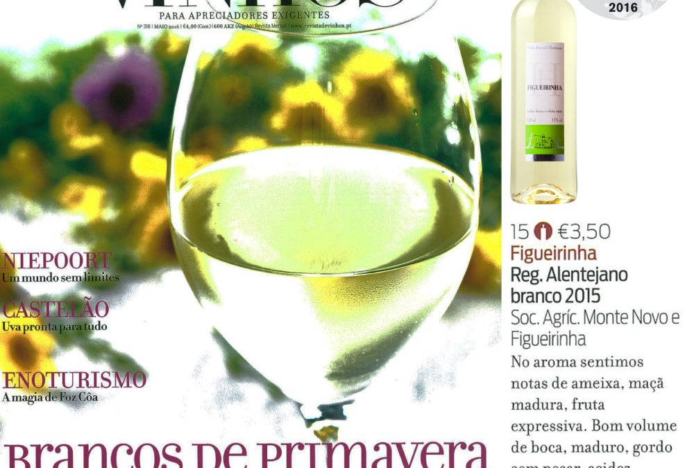 "Figueirinha White 2015 distinguished with the ""Great Purchase"" Medal"