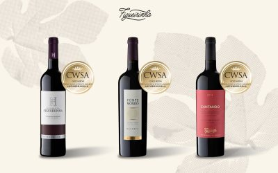 Três vinhos no Concurso CHINA WINE & SPIRITS AWARDS, distinguidos com Medalha de Ouro!